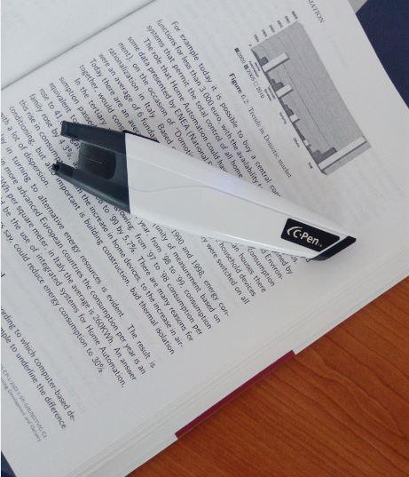 Skenovacie pero
